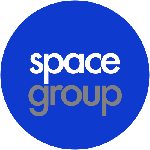 space group logo which links to more information